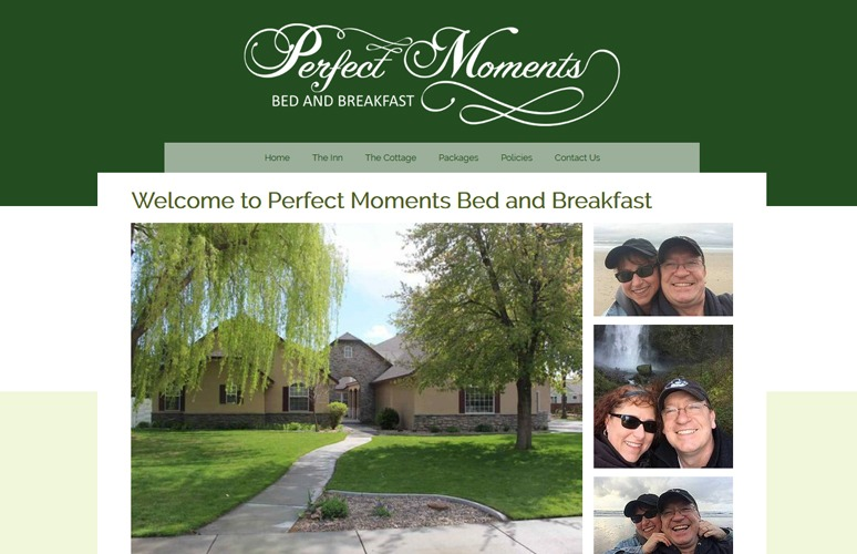 Bed and Breakfast websites
